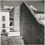 Le mura della cittadella monastica di Suor Orsola